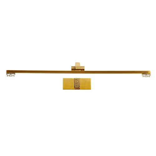 38c Farbe (BAIF Spiegelfrontlicht Badezimmerspiegelleuchten LED-Make-up-Lampe Badezimmerspiegel Schranklicht Wasserdicht Rostfrei Schlafzimmerwandleuchte [Energieklasse A +] (Farbe: NeutralLight, Größe: 38C)