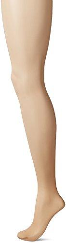 Hanes Perfect Nudes Run Resistant Tummy Control Short Hosiery (PN0001) -Buff/Nude -3/4X