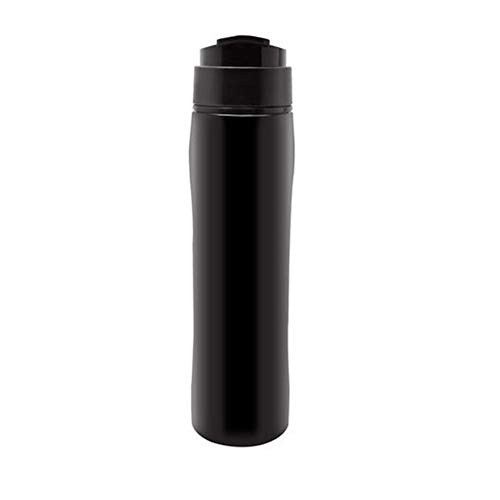 Edelstahl Kaffeekanne Methode Druck Topf Haushalt Teekanne Tragbaren Filter Isolierung Kaffeekanne,Black