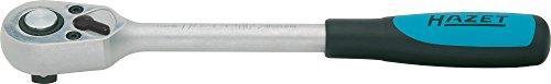 HAZET Umschaltknarre (1/2 Zoll Vierkant, 32 Zähne, schnell lösbare Sicherheitsverbindung) 916S