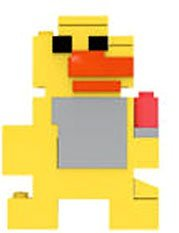 Five Nights at Freddy's 8-Bit Buildable Figure: Plush Chica Five Night At Freddys 3
