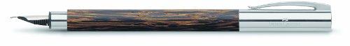 Faber-Castell 148173 - Füllfederhalter AMBITION Cocos, Feder: B, inklusive Geschenkverpackung