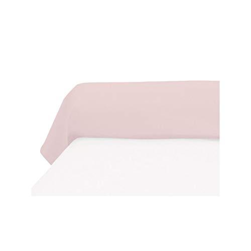 Soleil d'ocre Funda de travesaño 45x135 cm, de algodón, 57 Hilos, Rosa