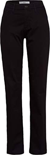 Brax Damen City Sport Premium Five Pocket Uni Hose, Schwarz (Perma Black 01), W29/L32(Herstellergröße: 38)