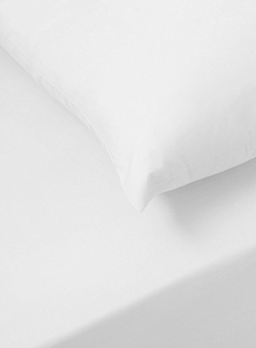 Sapphire collection 300 Thread Count 100% Egyptian Cotton Fitted Sheets All Sizes (King, White)