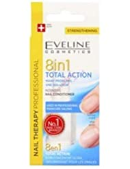 Eveline Intensive Nail Conditioner Total Action 8in1, 12 ml