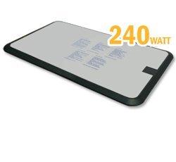 Wasserbett-heizung SBI Keramik Sigma K. 240 Watt - doppelte Fläche mit Hybrid Technologie für vollvolumige runde / achteckige Wasserkerne und bei erhöhtem Wärmebedarf Wasserbett-Zubehör