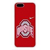 iPhone 55S Case, iPhone se caso OSU Ohio State Buckeyes 12Drop Protección nunca se descolora antideslizante a prueba de rayas color blanco duro plástico caso