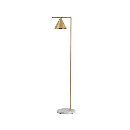 Postmodern Tapered Lampenschirm Marmor Dekorative Stehleuchte Kreative Studie Schlafzimmer Wohnzimmer Stehleuchte 155X20 cm -