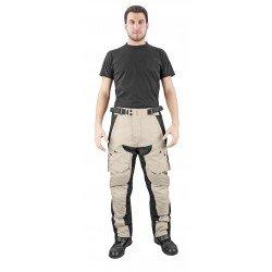 OJ - Pantalone Triplo Strato 4 Stagioni 100% Impermeabile Tessuti Esterni Poliammide e Poliestere Desert Evo P Mud, Multicolore, L