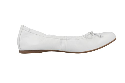 Gabor  Ribera,  Damen Ballerinas Weiß