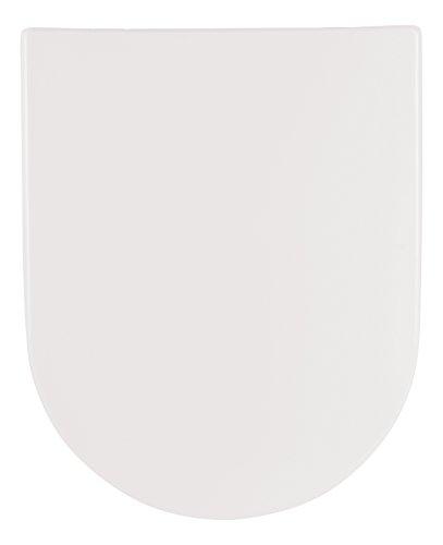 SANLUX - 40387 0 - WC-Sitz Almeria in Weiß - Hochwertiger Toilettensitz aus Duroplast - WC Brille mit Absenkautomatik & Take-Off Funktion & Top-Fix-Befestigung