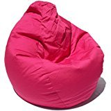 VSK Bean Bag Cover XXXL 50 X 28 INCH Pink  Without Beans  Size Quality