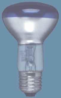 Reflektorlampe R63 40 Watt blau - Osram -