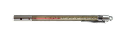 thermco Präzision Red Spirit gefüllt Pocket Test Thermometer, 165mmlength, Open Face, -30 to 120°F Range, 2°F Division, 1 (Pocket-thermometer Test)