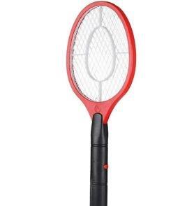 Toyonee Elektrische Fliegenklatsche Mückenklatsche Insektenschläger Insektenvernichter Killer für Mücken Fliegen Fliegenklatsche Elektrisch (Rot)