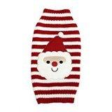 Cofco Hunde-Pullover Weihnachtsmann, Hunde-Kleidung, gestrickt, für kleine/mittelgroße/große Hunde, Weihnachts-Pullover