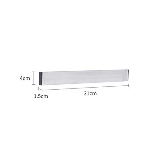 El soporte magnético cuchillos cocina pared, acero