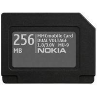 Nokia Speicherkarte MMC 256 MB MU-9 E60; N-Gage; N-Gage QD; N7