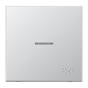 Jung al2990ko5lp–Taste Simple C/Sucher/simb. Licht 3d Aluminium