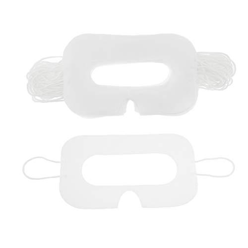 IPOTCH 50 STK Einweg Hygiene Auge Gesicht Maske Gesicht deckt für HTC Vive VR Kopfhörer Virtual Reality Zubehör - Nase Zeigen