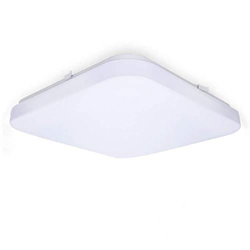 Tonffi 42W LED Deckenleuchte Kaltweiß(6000K-6500K) Deckenlampe Badleuchte Feuchtraumleuchte Kellerleuchte IP54 Rechteck
