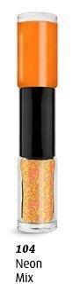 ongle Duo Caviar Ongles Multicolore Couleurs - 104 néon mélange