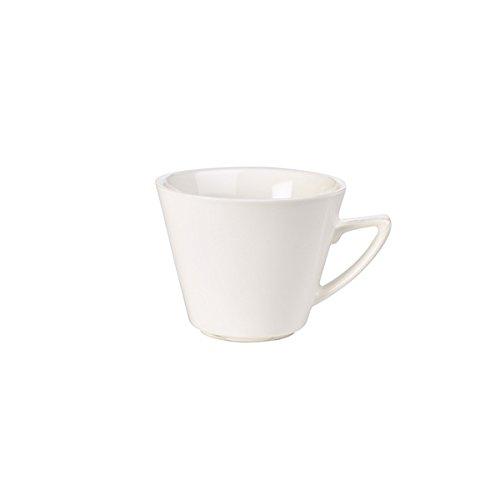 Genware nev-fc22mc rgfc Moderner gewinkelter behandelt Cup, 22cl (6Stück)