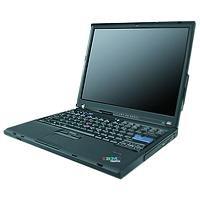 Lenovo ThinkPad T60 Notebook Core Duo T2400 1.80GHz 512MB 80GB 14.1 inch XGA TFT DVD±RW Modem WLAN BT XP Pro (ATI Mobility Radeon
