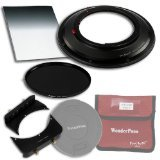 WonderPana 66 FreeArc Essentials ND 0.6HE Kit - Rotating 145mm Filter System Holder, Lens Cap, Fotodiox Pro 6.6