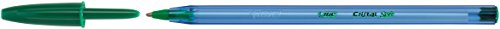 BIC CRISTAL SOFT Medio Verde 1 pieza(s) – Bolígrafo (Verde, Transparente, Medio, 1,2 mm, 0,45 mm