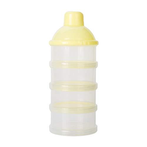 Mitlfuny Unisex Baby Kinder Jungen Zubehör Säuglingspflege,Tragbarer abnehmbarer Milchpulver-Kasten-Sicherheits-Baby-Milchpulver-Behälter-Imbiß-Kasten