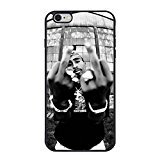Tupac Shakur 2 Pac iPhone 6S Plus caso, Tupac Shakur funda para iPhone 6 Plus/6S Plus TPU caso