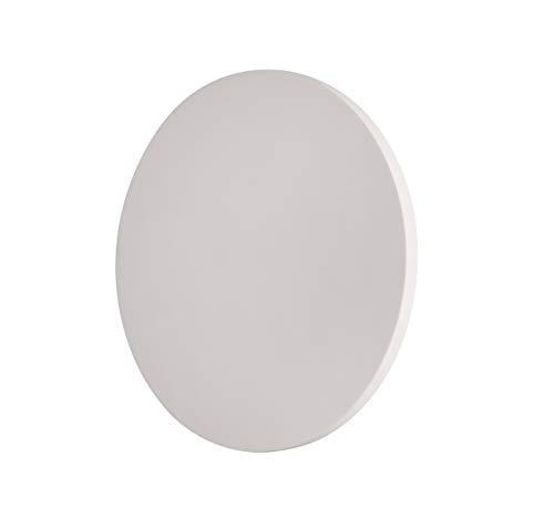 Applique lED lampe de mur circulaire D. 300 14 W 3000 K 1250 lm en résine de craie