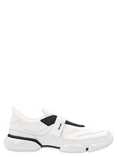 Prada Herren 2Og0662odjf0009 Weiss Polyamid Slip On Sneakers (Prada Männer Schuhe)