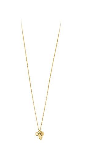 Dyrberg Kern Damen-Ketten mit Anhänger Edelstahl Kristall 339218