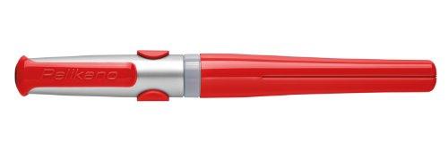 Pelikan 924845 - Pelikano Tintenroller R481 für Linkshänder, Schaftfarbe: rot -