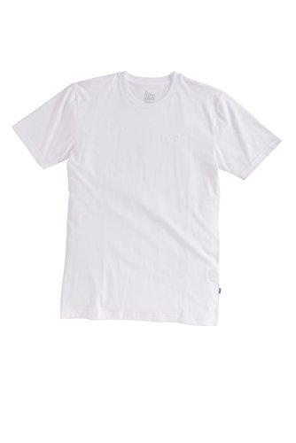 Cleptomanicx Herren T-Shirt Ligull Regular White XXL