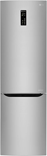 LG Electronics GBB 60 NSFFS Kühl-Gefrier-Kombination / A+++ / 178 kWh / 211,5 cm / Steel Silber / 93 L Gefrierteil / Smart Diagnosis / No Frost