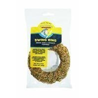 Vitakraft Vita Prima Sun Seed Swing Ring for Parakeets, Canaries & Finches 2.11oz by Vitakraft Sun Seed (Seed Vita Finch)