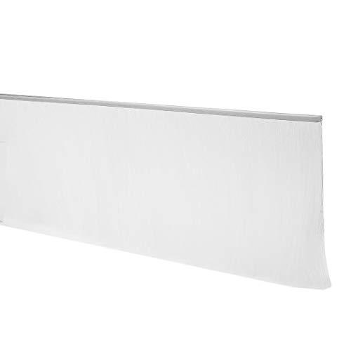40-Zoll x 6-Zoll Türboden Fegen Nylon Pinsel Einsatz Siegel weiß DE -