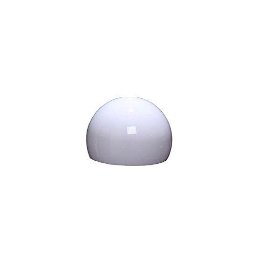 Schirm für Bogen- und Pendelleuchte LOUNGE DEAL II, Ø 40cm, Kunststoff ~ weiß