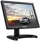 Eyoyo 10' LCD Monitor 1280x800 HDMI BNC AV VGA Video Ingresso Auricolare IPS con Retroilluminazione a LED, Altopalante per PC CCTV Home Security