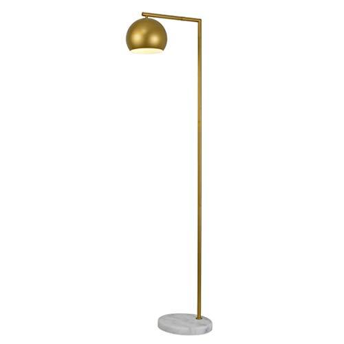 Lampadaire Lampadaire De Chambre À Coucher Lampadaire De Canapé Simple Lampadaire De Bureau Lampadaire De Chevet En Bois Massif (Color : Gold-155x33cm)