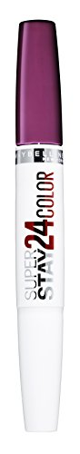 Maybelline Superstay 24H Lippenstift Nr. 260 Wildberry, farbintensiver, flüssiger Lippenstift mit bis zu 24 Stunden Halt, patentierte Micro-Flex-Formel, mit integriertem Pflegebalsam, 5 g (Cappuccino-lippenstift)