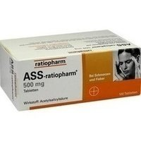 ASS-ratiopharm 500mg 100 stk