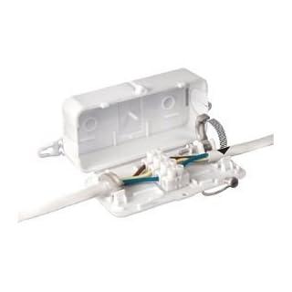 Debox DEKSB-001 4 pole connector block junction box (Pack of 1)