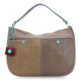 Gabs Ros M sac à main porté épaule cuir 40 cm grau