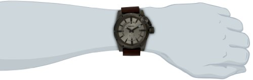 Diesel Men's Quartz Watch Bad Company DZ4238 with Metal Strap