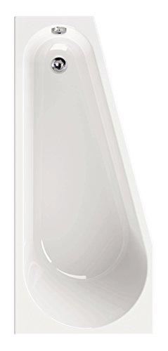 AquaSu 80182 9 Acryl laPino, 160 x 70 cm, Weiß, Wanne, Badewanne, Bad, Badezimmer, Rechte Ausführung